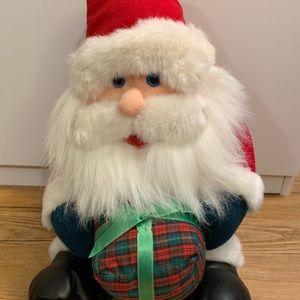Santa Plush-Excellent condition!